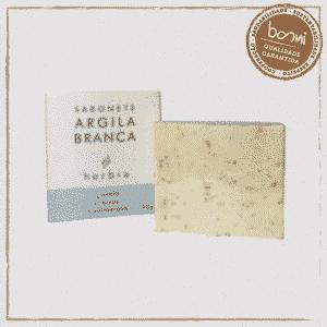 Sabonete Facial de Argila Branca Vegano Herbia 60g