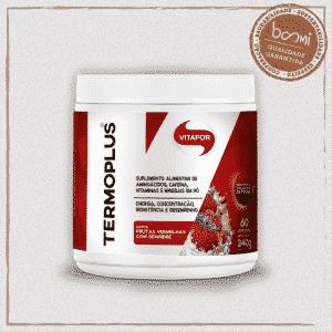 Termo Plus Cafeína L-Tirosina L-Fenilalanina Frutas Vermelhas e Gengibre Vitafor 240g