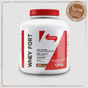 Whey Fort 100% Whey Protein Premium Brown Chocolate 1800g