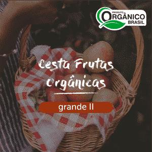 Cesta Frutas Orgânicas Grande II
