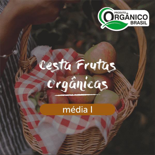 Cesta Frutas Orgânicas Média