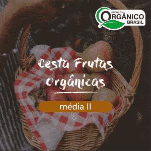 Cesta Frutas Orgânicas Média II
