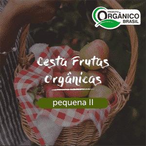 Cesta Frutas Orgânicas Pequena II