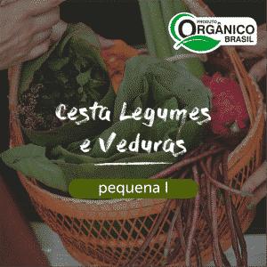 Cesta Legumes e Verduras Pequena