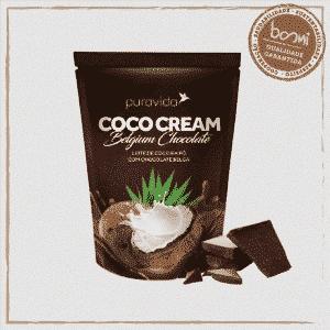 Coco Cream Chocolate Leite de Coco Vegano Puravida 250g