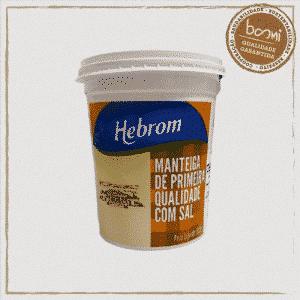 Manteiga Artesanal com Sal Mineira Hebron 500g