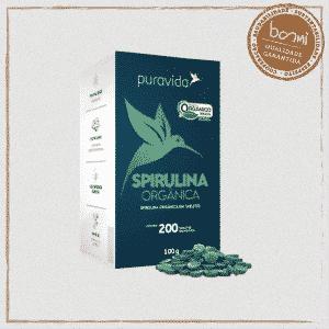 Spirulina Premium Orgânica Puravida 100g