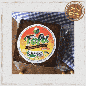 Tofu de Soja Orgânica Defumado com Orégano Sítio Boa Esperança 250g