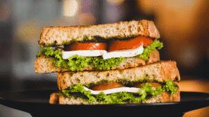 receitas de sanduíches vegetarianos