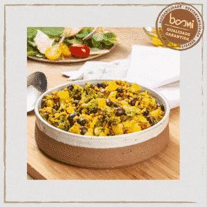 Carne ao Curry com Mandioquinha e Brócolis Orgânico Organic4 250g 1