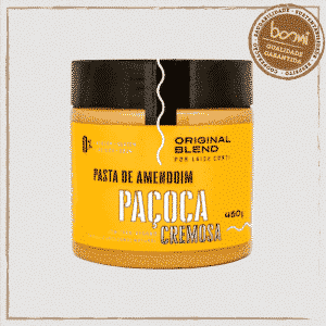 Pasta de Amendoim Integral Cremosa Original Blend 450g