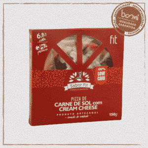 Pizza Low Carb de Carne do Sol e Cream Cheese Sabor Fit 150g 1