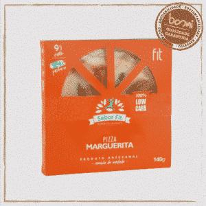 Pizza Low Carb de Marguerita Sabor Fit 140g 1