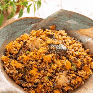 Quinoa com Cogumelos e Legumes Orgânico Organic4 250g 2