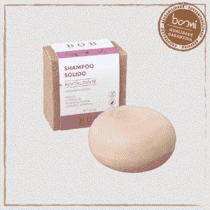 Shampoo em Barra Sólido Revitalizante B.O.B 80g