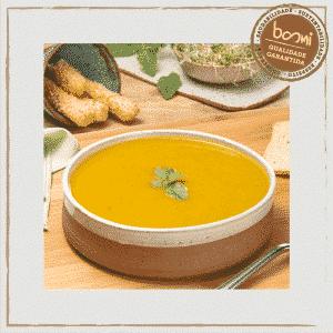 Sopa de Mandioquinha com Manjericão Orgânico Organic4 400g 1