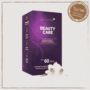 Beauty Care Cabelo, Pele e Unha Puravida 60 Cápsulas