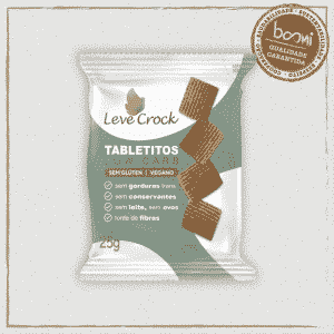 Biscoito Tabletito Original Low Carb Leve Crock 25g