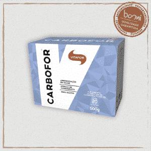 Carbofor Carboidratos 20 Sachês 25g Vitafor 500g