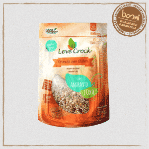 Granola Amaranto e Coco Sem Glúten Leve Crock 200g