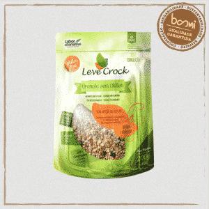 Granola Quinoa e Amêndoas Zero Açúcar Sem Glúten Leve Crock 200g