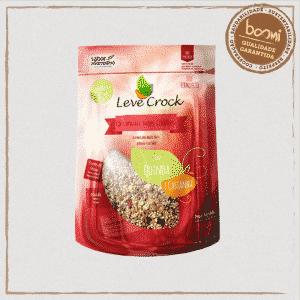 Granola Quinoa e Castanha Sem Glúten Leve Crock 200g