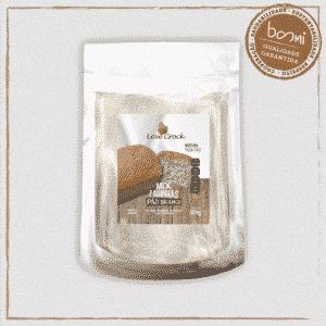 Mix de Farinhas para Pão Branco Sem Glúten Leve Crock 350g