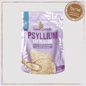 Psyllium Fibra Natural Sem Glúten Leve Crock 100g