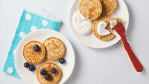 receitas de lanches saudáveis para os bebês