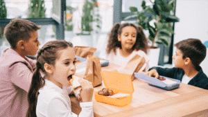 dicas de lanches saudáveis para escola