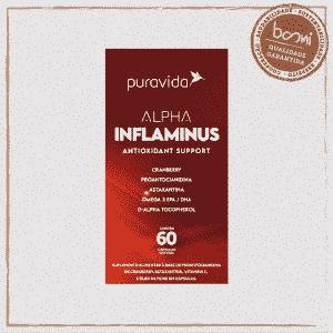 Alpha Inflaminus Antioxidante Puravida 60 Cápsulas