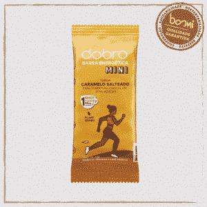 Barra Energética Caramelo Salteado com Chocolate Dobro 25g