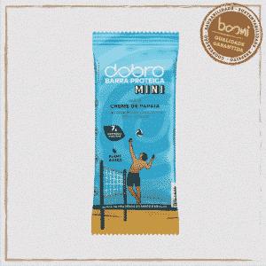 Barra Proteica Creme de Papaia com Chocolate Dobro 25g