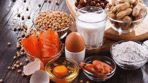 Alergias alimentares mais comuns