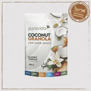 Granola Classic Vanilla Coconut Low Carb Puravida 180g