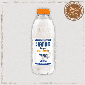Leite Integral Zero Lactose Tipo A Xandô 1L