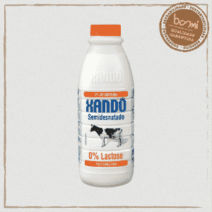 Leite Semidesnatado Zero Lactose Tipo A Xandô 1L