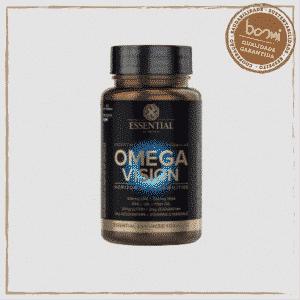 Ômega Vision Óleo de Peixe + Krill Essential Nutrition 60 Cápsulas 1
