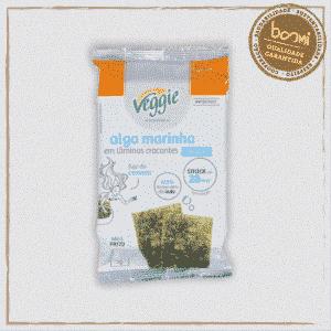 Snack de Alga Marinha Tradicional Veggie 5g