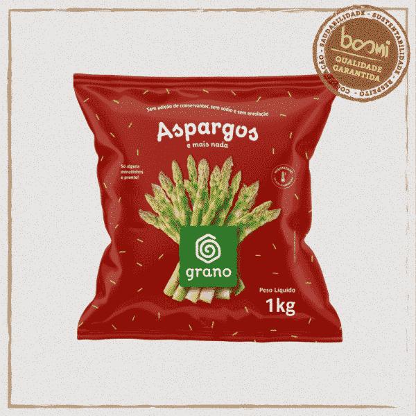 Aspargos Verde Congelado Grano 1kg