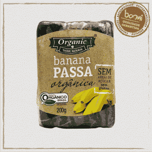 Banana Passa Orgânica Organic 200g