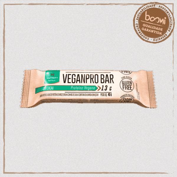 Barra de Proteína Veganpro Cacau Nutrify 40g