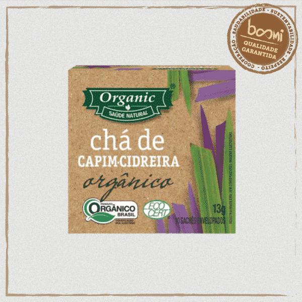 Chá Orgânico de Capim Cidreira Organic