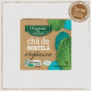 Chá Orgânico de Hortelã Organic