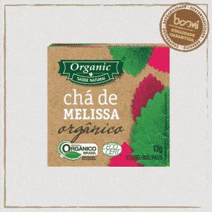 Chá Orgânico de Melissa Organic