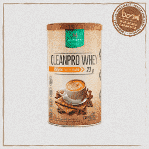 Cleanpro Whey Protein Isolado Cappuccino Nutrify 450g
