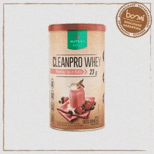 Cleanpro Whey Protein Isolado Frutas Vermelhas Nutrify 450g