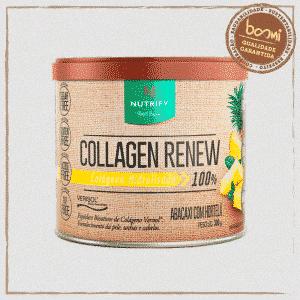 Collagen Renew Colágeno Hidrolisado Abacaxi com Hortelã Nutrify 300g