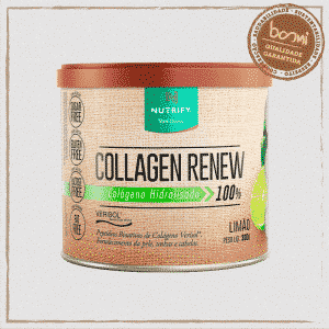 Collagen Renew Colágeno Hidrolisado Limão Nutrify 300g