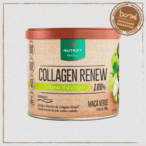 Collagen Renew Colágeno Hidrolisado Maçã Verde Nutrify 300g